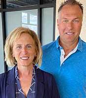 Dr Trent Anderson and Dr. Cheryl Lindgren of Hudson Valley Dental in Hudson Wisconsin